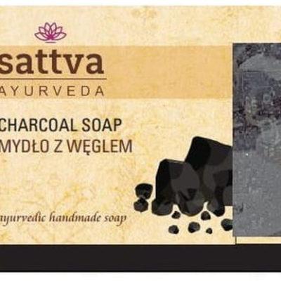 Sattva Sattva Mydło w kostce Węglem 125g