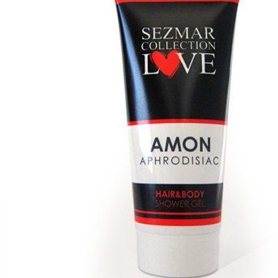 Sayaz Sayaz Naturalny żel pod prysznic do włosów i ciała z afrodyzjakami amon 200 ml