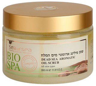 Sea of Spa Bio Spa Dead Sea Aromatic Oil Scrub olejowy peeling do ciała Lavender 350ml