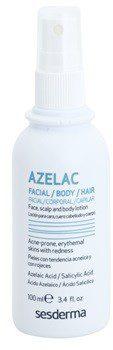 SesDerma Azelac tonik leczniczy na zapalne zmiany skóry Azelaic Acid Salicylic Acid 100 ml