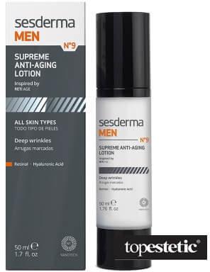 SesDerma MEN N9 Supreme Anti-Aging Lotion Krem przeciwzmarszczkowy do twarzy 50 ml