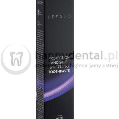 SEYSSO SEYSSO PROTECTION AND SAFE WHITENING Toothpaste 75ml - Pasta ochronno-wybielająca do zębów wzmacniająca działanie drgań sonicznych szcz. SEYSSO