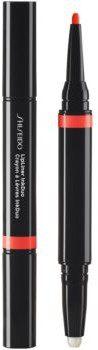 Shiseido LipLiner InkDuo szminka i konturówka do ust z balsamem odcień 05 Geranium 1,1 g