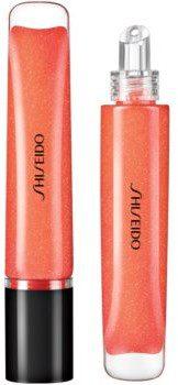 Shiseido Shimmer GelGloss połyskujący błyszczyk do ust o dzłałaniu nawilżającym odcień 06 Daidai Orange 9 ml
