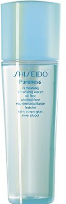 Shiseido Shiseido Pureness Refreshing Cleansing Water Oil-Free Alcohol-Free Odświeżająca woda do demakijażu 150ml