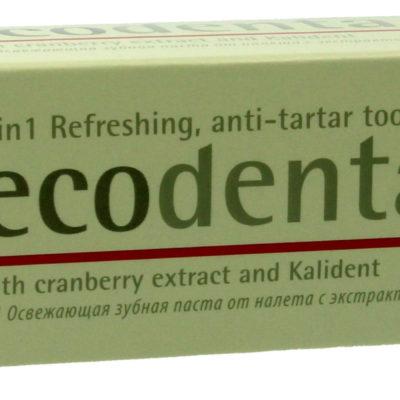 Siberica Ecodenta pasta do zębów przeciw kamieniowi żurawina