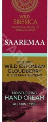Siberica EUROBIO LAB Wild SAAREMAA krem nawilżający do rąk 75 ml