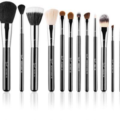 Sigma ESSENTIAL KIT - Professional brush collection - Zestaw 12 pędzli do makijażu SG01065