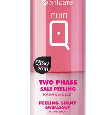 Silcare 10x QUIN Peeling dwufazowy solny z olejem awokado do dłoni i ciała 200 ml