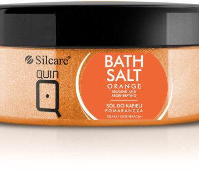 Silcare Sól do kąpieli QUIN pomarańcza 350 g