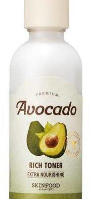 SKINFOOD Premium Avocado Rich Toner odżywczy tonik do twarzy z ekstraktem z awokado 180ml