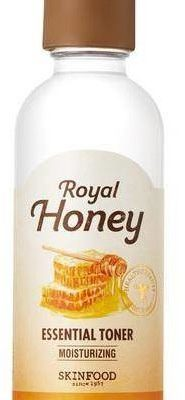 SKINFOOD Royal Honey Essential Toner nawadniający tonik do twarzy z miodem 120ml