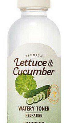 Skinfood Skinfood Premium lettuce & cucumber watery toner tonik do twarzy z sałatą i ogórkiem 180ml