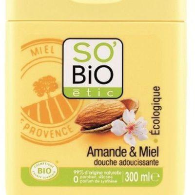 So Bio etic żel pod prysznic migdały i miód, 300 ml