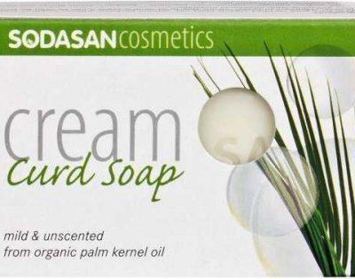 Sodasan Cosmetics, mydło organiczne, bezzapachowe, antyalergiczne, 100 g