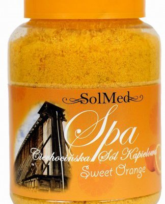 Sol - Med Ciechocińska sól do kąpieli pomarańcza 550 g CI100124
