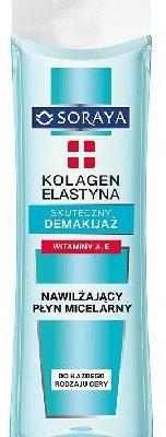 Soraya Kolagen & Elastyna, nawilżający płyn micelarny do demakijażu, 200 ml