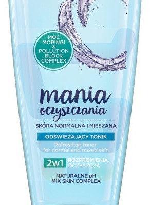 Soraya Mania Oczyszczania Tonik do twarzy Cera normalna i mieszana 1 szt.