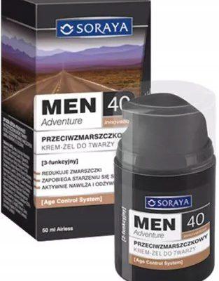Soraya Men Adventure 40+ Krem przeciwzmarszczkowy