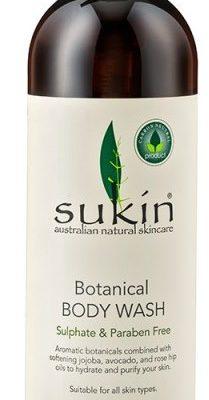 Sukin Sukin, odświeżający roślinny żel pod prysznic, 250 ml