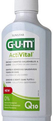 Sunstar G.U.M. Butler Butler G.U.M. ActiVital płyn 500 ml + koenzym Q10 + owoc granatu