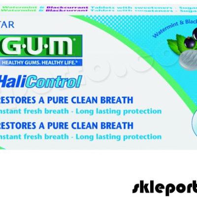 Sunstar G.U.M. Butler GUM Halicontrol tabletki 10 szt - na nieświeży oddech halitoza