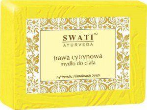 Swati Mydło w kostce Trawa Cytrynowa Indyjskie 100g
