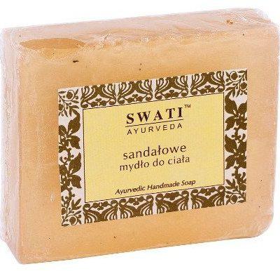 Swati Naturalne mydełko sandałowe do ciała Swati 100g