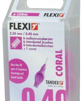 Tandex Flexi 0,40 szczoteczki międzyzębowe 6szt