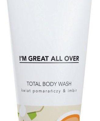 Tizmi Tizmi Total Body Wash żel pod prysznic Kwiat Pomarańczy & Imbir 200ml