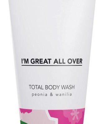 Tizmi Tizmi Total Body Wash żel pod prysznic Peonia & Wanilia 200ml