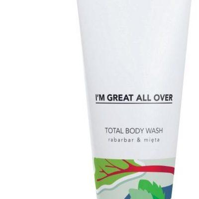 Tizmi Tizmi Total Body Wash żel pod prysznic Rabarbar & Mięta 200ml