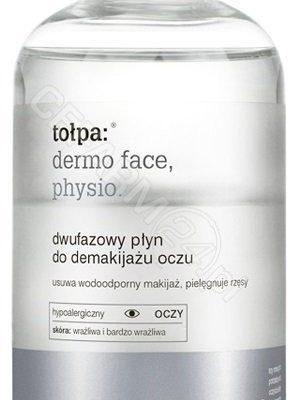 Tołpa Dwufazowy płyn do demakijażu oczu - Tołpa Dermo Physio Face Eye 150ml