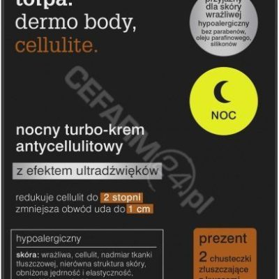 Tołpa TORF CORPORATION dermo body nocny turbo-krem antycellulitowy 250 ml