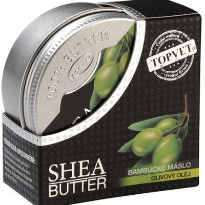 Topvet Bambusowe masło z olejkiem z oliw 100 ml ,