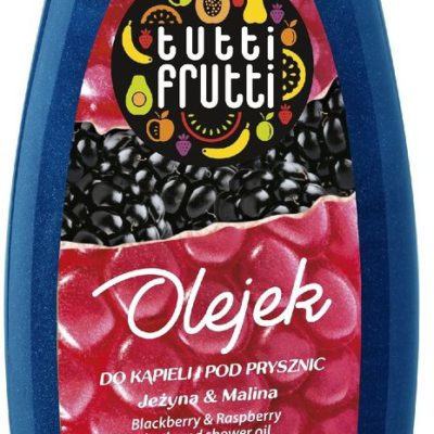 Tutti Frutti Jeżyna & Malina olejek do kąpieli i pod prysznic 425ml