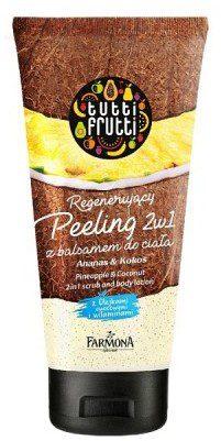 Tutti Frutti Tutti Frutti Ananas&Kokos peeling do ciała z balsamem 2w1 200 ml