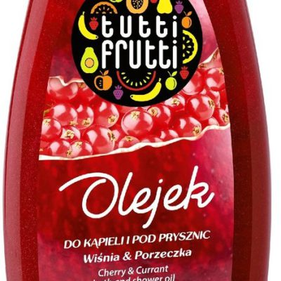 Tutti Frutti Wiśnia & Porzeczka olejek do kąpieli i pod prysznic 425ml