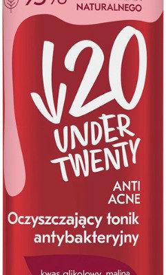 UNDER TWENTY ANTI ACNE - CLEANSING ANTIBACTERIAL TONER - Oczyszczający tonik antybakteryjny Cera mieszana i tłusta 200ml