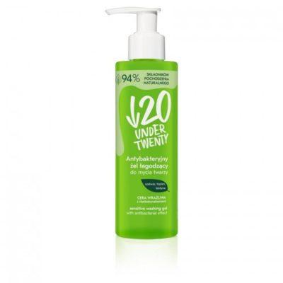 Under Twenty Under Twenty antybakteryjny żel łagodzący do mycia twarzy 190ml ZEL UNT-010