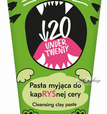 UNDER TWENTY UNDER TWENTY - CLEANSING CLAY PASTE - Pasta myjąca do kapRYŚnej cery - 150ml UNDN101