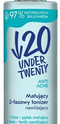 Under Twenty Under Twenty Nawadniający 2-fazowy Tonik 200ml