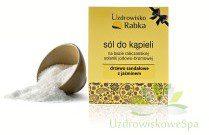 Uzdrowisko Rabka Sól kąpielowa jodowo-bromowa w kartoniku - drzewo sandałowe z jaśminem Rabka_worek_03