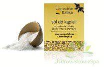 Uzdrowisko Rabka Sól kąpielowa jodowo-bromowa w kartoniku - drzewo sandałowe z mandarynką Rabka_worek_02