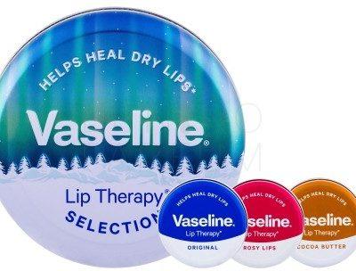 Vaseline Lip Therapy Selection zestaw 20 g dla kobiet Cocoa Butter