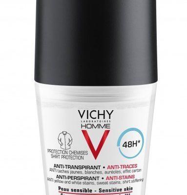 Vichy HOMME Antyperspirant w kulce dla mężczyzn przeciw plamom 48h 50 ml 7074112