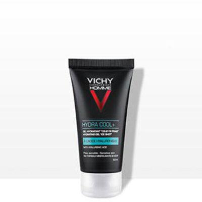 Vichy Homme Hydra Cool + żel nawilżający z efektem chłodzenia 50 ml