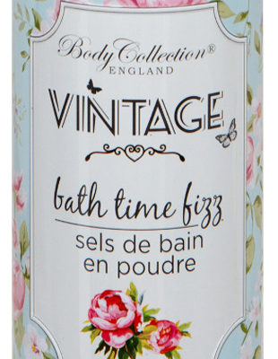 Vintage Body Collection Body Collection Bath Time Fizz Powder Bubble Bath Puder Do Kąpieli 425g