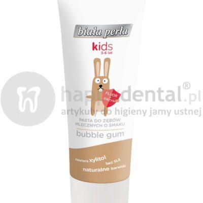 Vitaprodukt BIAŁA PERŁA KIDS żelowa pasta do mycia zębów mlecznych dla dzieci w wieku 3-6 lat
