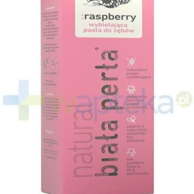 Vitaprodukt Biała Perła Natural Raspberry pasta do zębów 75ml 7072757